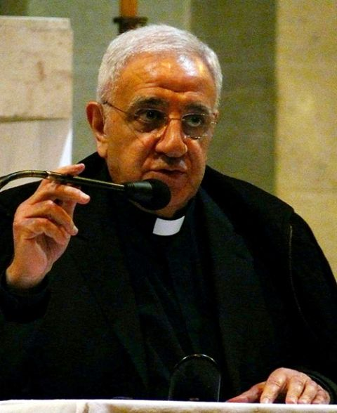 Msgr. Tony Anatrella speaks during a conference in Lille, France, in 2012. (Wikimedia Commons/Peter Potrowl)