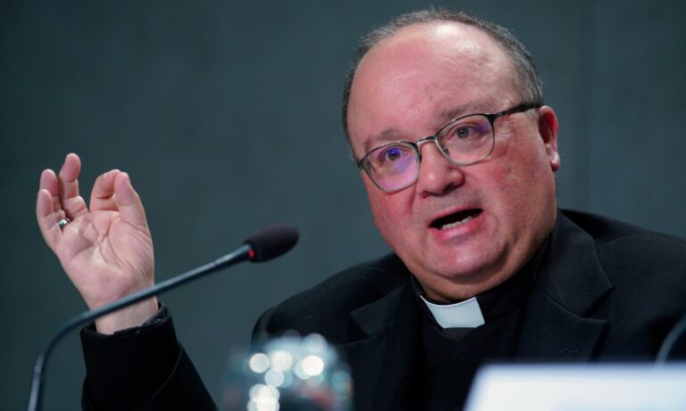 Archbishop Charles Scicluna is one of the Vatican's most senior safeguarding figures Archbishop Charles Scicluna is one of the Vatican's most senior safeguarding figures - Andrew Medichini/AP/Shutterstock