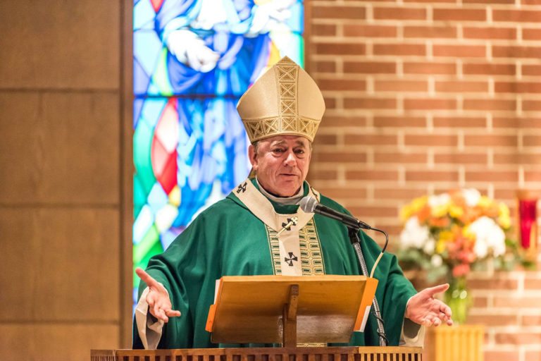 A Chilliwack man has filed a lawsuit against Archbishop J. Michael Miller and the Roman Catholic Archdiocese of Vancouver for sexual abuse and assault he alleges he suffered at a Bible camp on Gambier Island in the 1970s. (Archbishop J. Michael Miller/Facebook)