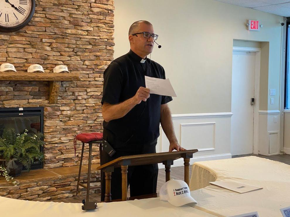Father Mark White talks about his new book.  Bill Wyatt