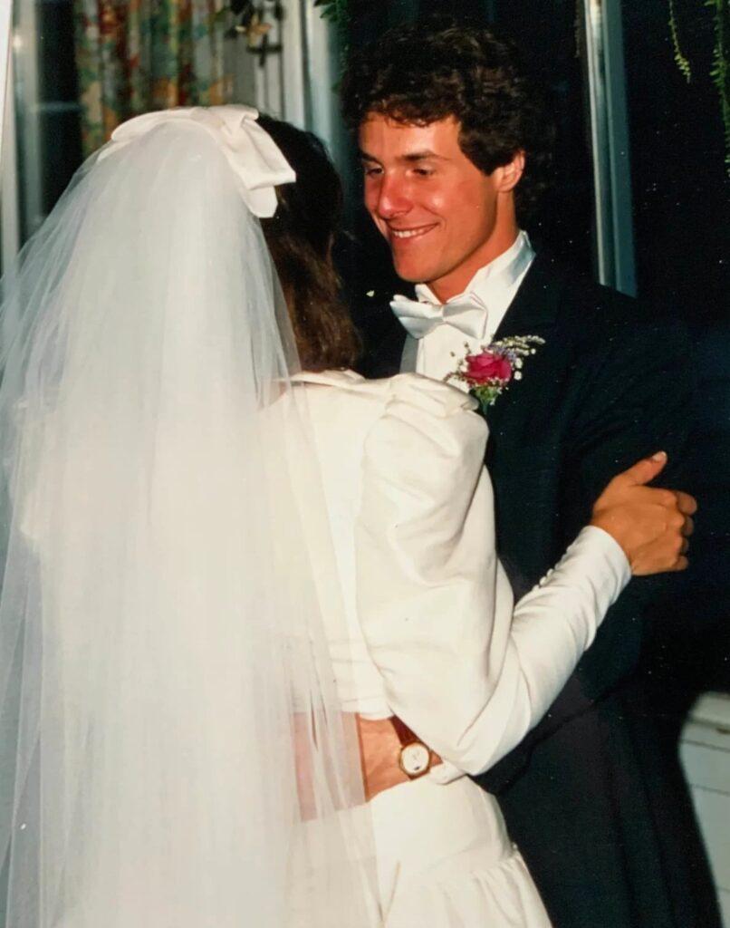 Peter on his wedding day.  Courtesy Jenny Grosvenor