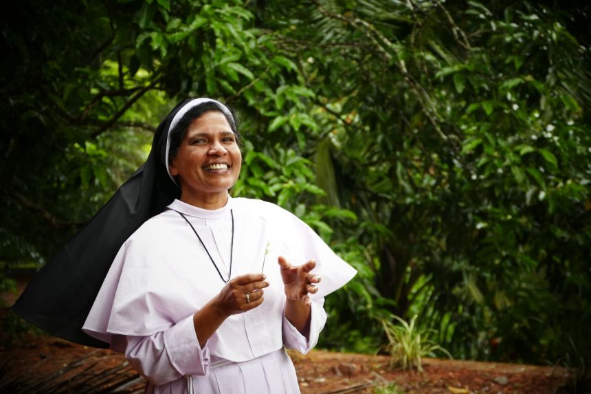 Sister Lucy Kalapura (above), who has spoken out against a bishop accused of rape, says the reasons for her dismissal from the convent are a smokescreen.PHOTO: SISTER LUCY KALAPURA