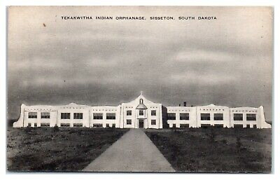 The buildings of the Tekakwitha Boarding School and Orphanage in Sisseton, S.D. Photos courtesy of Sisseton Wahpeton Oyate