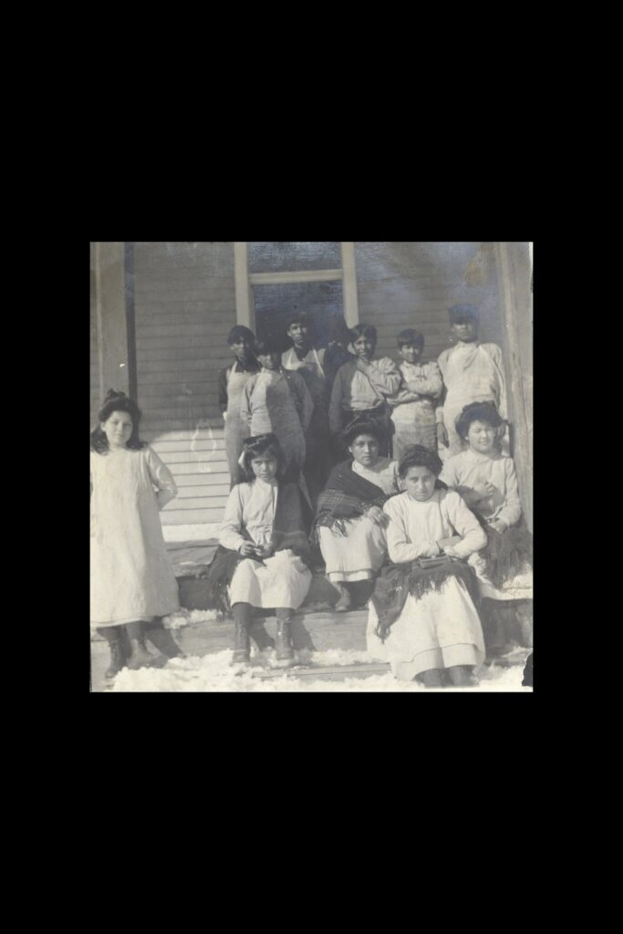 Children at Fort Lewis Indian School in Colorado circa 1900.Credit...via the Center of Southwest Studies, Fort Lewis College