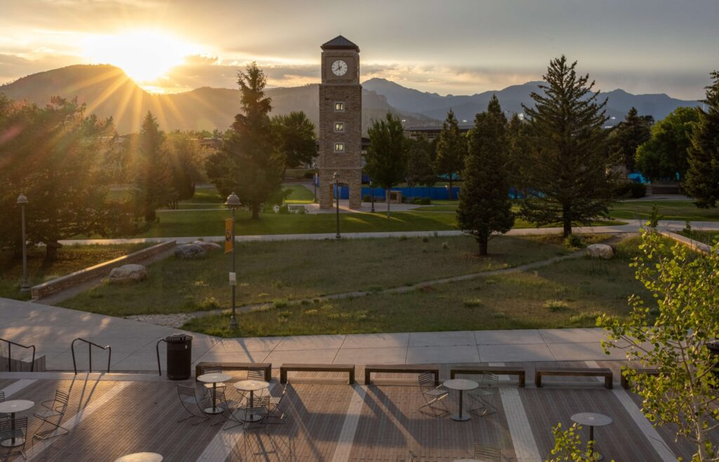A committee at Fort Lewis College in Colorado has begun investigating the institution's past and is studying how to search its former campus for the possibility of the remains of children who died there.Credit...Sharon Chischilly for The New York Times
