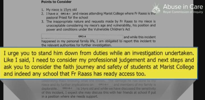 CU urged the Church to stand Sateki Raass down from duties while an investigation was undertaken. Photo: Screenshot