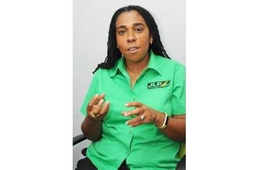 Government Senator Natalie Campbell-Rodriques