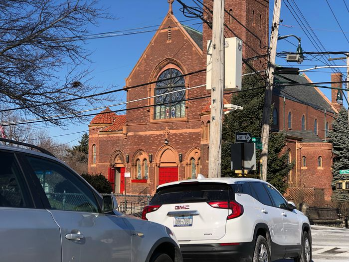Sacred Heart R.C. Church in West Brighton is shown in this file photo. (Staten Island Advance/Jan Somma-Hammel)