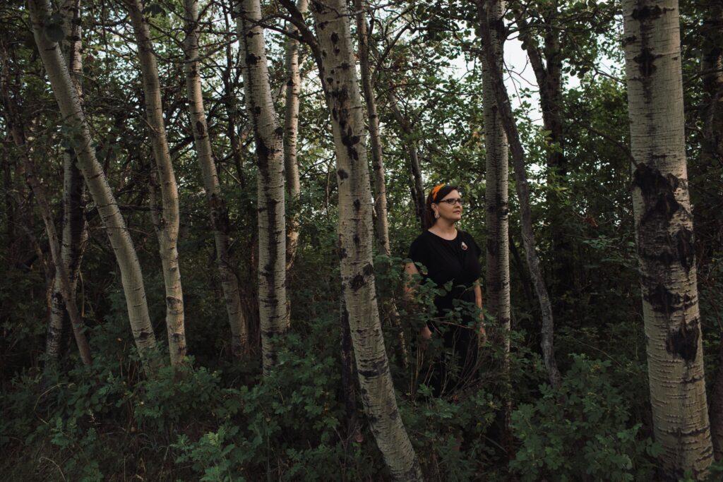 Kisha Supernant, an archaeologist, in Edmonton, Alberta. Amber Bracken for The New York Times