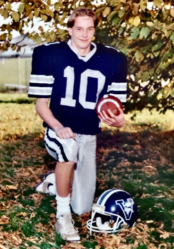 Ryan Barry of Pennyslvania claims that he was sexually abused in the 1990s when he was a student and football player at St. Joseph by-the-Sea High School. He named the Rev. James Garisto as the abuser in a lawsuit. (Courtesy of Ryan Barry)