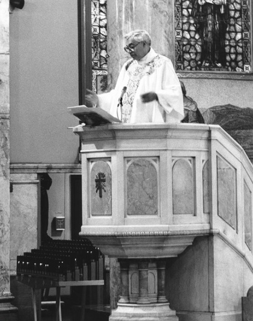 Gigante served as a priest at St. Athanasius Church in the Bronx. SEBCO Development Inc