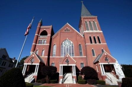 St. Charles Borromeo Church in Pittsfield, Massachusetts.