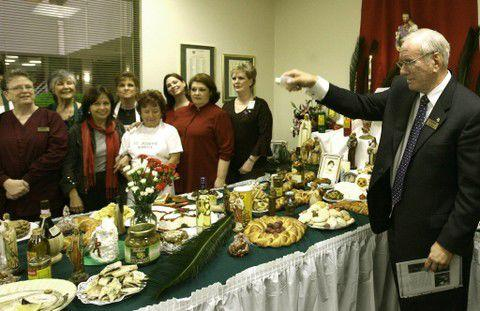 The St. Joseph's Altar at the St. Joseph Hospice in Harahan is blessed by George Brignac on March 14, 2008, 20 years after he had been removed from the ministry as a deacon because of child molestation allegations.