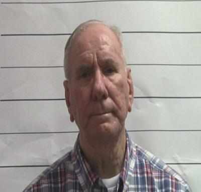 Booking photo of George Brignac from 2019