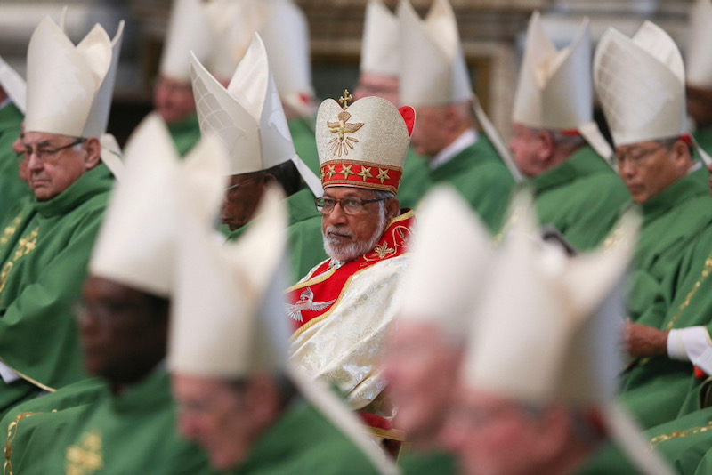 Cardinal George Alencherry attends a Mass celebrated by Pope Francis in St Peter's Basilica at the Vatican, February 15, 2015. Alessandro Bianchi/Reuters