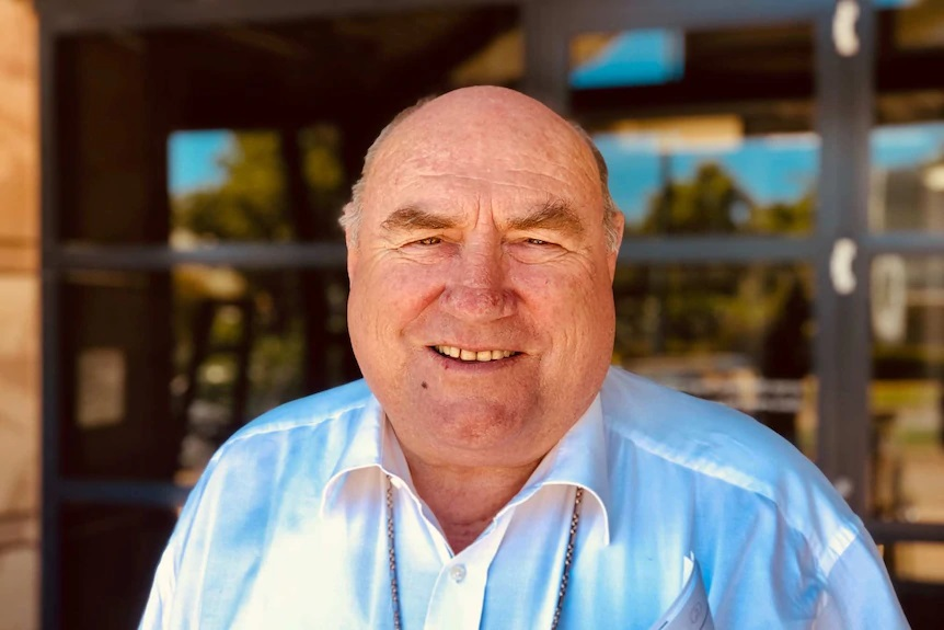 The Vatican confirmed last night that it had accepted the resignation of Broome Bishop Christopher Saunders, who has overseen the outback diocese for 26 years.(ABC News: Erin Parke)