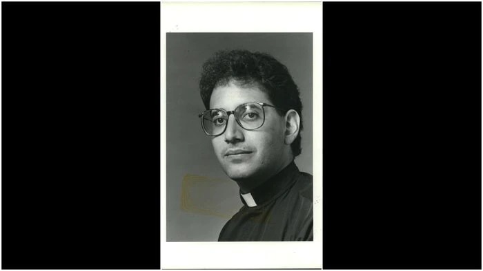 Daniel Calabrese formerly served as a priest at Blessed Sacrament R.C. Church in West Brighton, as seen in this photo from 1991. (Staten Island Advance/Steve Zaffarano)