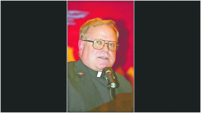 Former Monsignor Farrell Principal John Paddack stepped aside from his post at Church of Notre Dame recently as officials investigate claims of past sexual abuse.