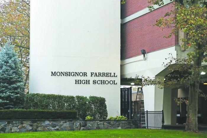Monsignor Farrell High School (Staten Island Advance/Irene Spezzamonte)