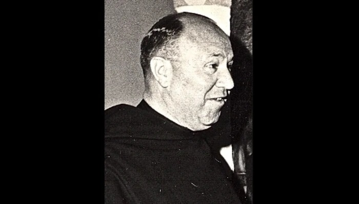 In this photo from April 1967, Rev. Thomas Burke is identified as the prior of Augustinian Academy when efforts were made to try and keep the school open. (Staten Island Advance)