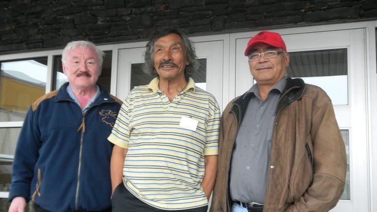 Peter Irniq (left to right), Jack Anawak and Marius Tungilik. Photo: Submitted