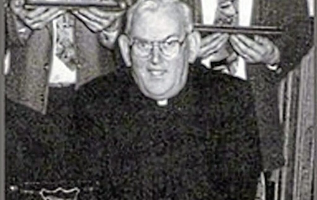Paedophile priest Malachy Finegan who died in 2002