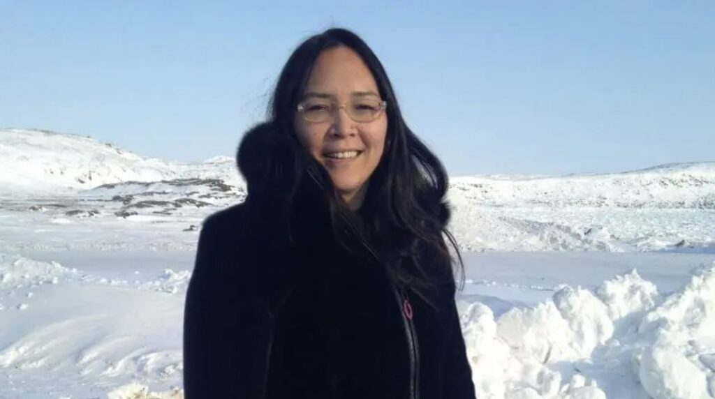Aluki Kotierk is an Inuit leader who has written several letters to Justice Canada about the case of Johannes Rivoire. Photo: APTN file