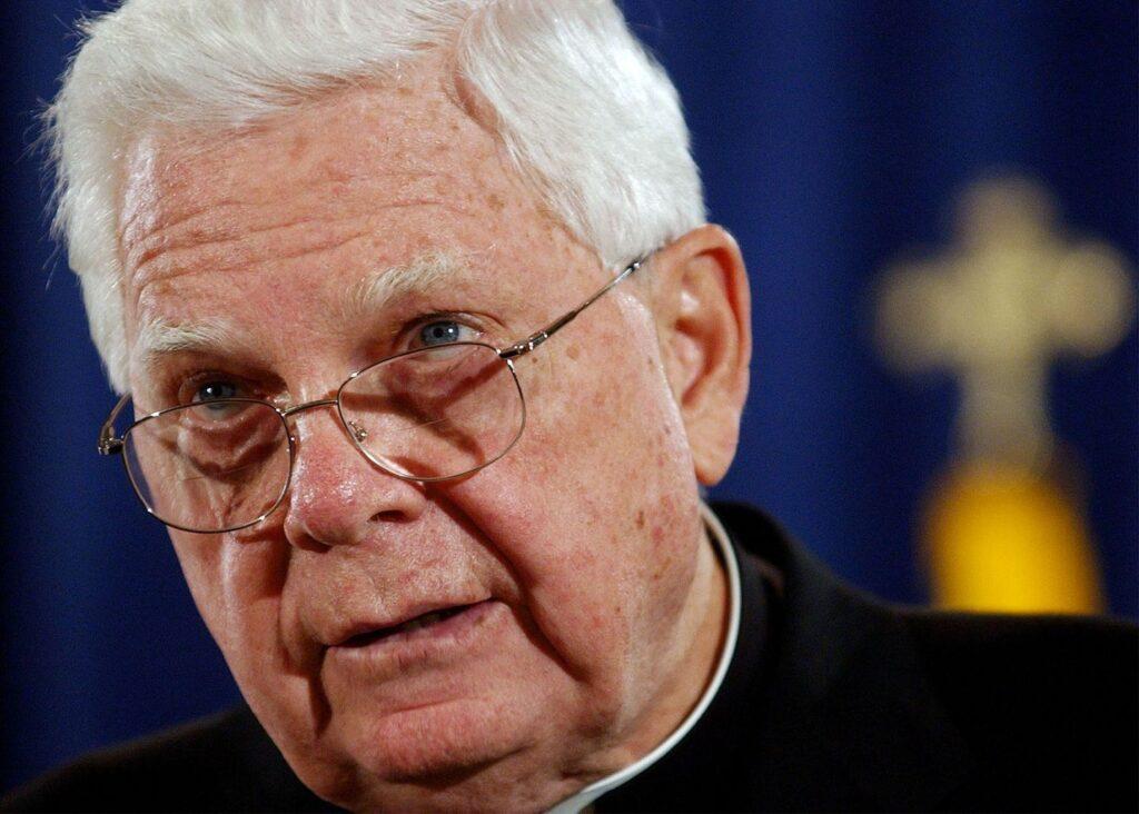 Cardinal Bernard Law in 2002.KEN LAMBERT/ASSOCIATED PRESS / FILE
