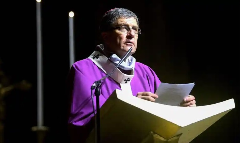 France's top bishop, Éric de Moulins-Beaufort, sparked outrage by rejecting recommendations to require priests to tell police of child abuse cases learned about during confession. Photograph: François Nascimbeni / AFP / Getty Images